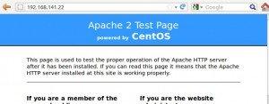 Install apache2 centos6