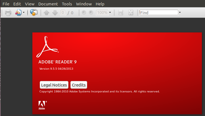 How to install adobe reader on ubuntu 13.04