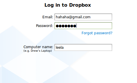 how to add account in linx mint