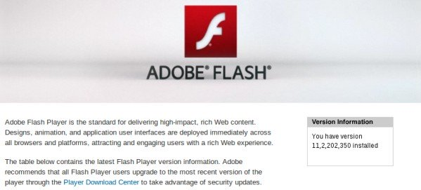 Install adobe flash player on ubuntu 14.04 testing