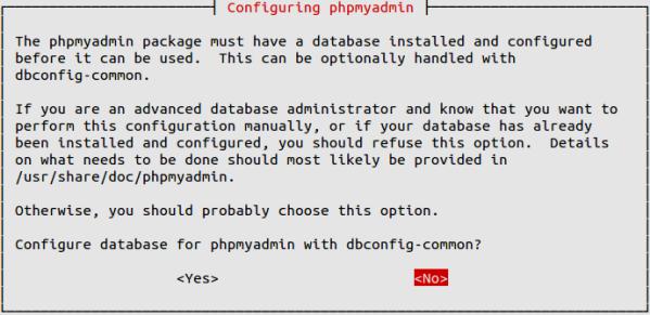 Install phpmyadmin on ubuntu 14.04