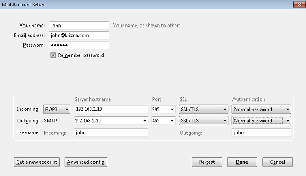 Setup mail server on centos 7